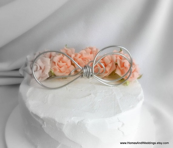 Infinity Symbol Wedding Cake Topper