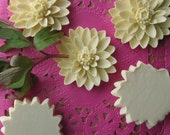 Vintage Celluloid Dahlia Flower