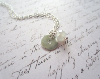 Initial Necklace, Personalized Necklace, Charm Necklace, Swedish Jewelry Design, Made In Sweden, Scandinavian Jewelry