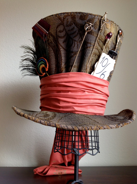 Perfect Replica of Tim Burton's Mad Hatter Top Hat