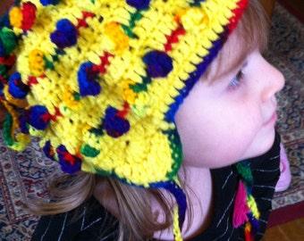 Crocheted Funky Hat