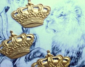Royal Crown Stamping (2 pc)