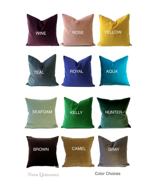 Velvet Decorative Pillow Covers : 301 Moved Permanently