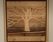 Indoor Outdoor Rustic Pallet Wood Wall Art