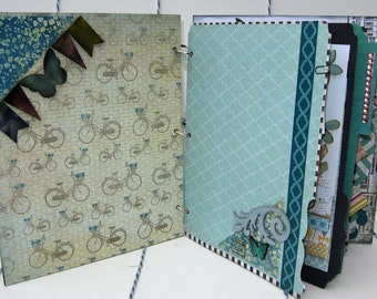 Bring Your Own Sunshine - Album and Journal in Soft Blue7.5x9 inches