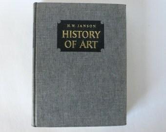 1966 artbook, History of Art from Diz Has Neat Stuff
