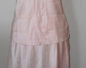 Half Slip and Camisole Set Vintage Jodie Arden Satin Size Small/Medium