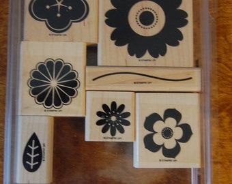 Petal Pizzaz - Retired - Stampin Up Stamp Set