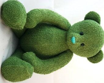Handmade OOAK artist teddy bear. Made to order.