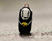 No-Face Keychain