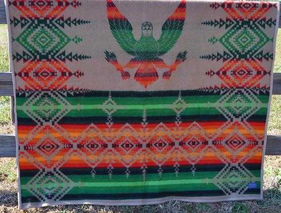 Vintage Pendleton Beaver State Native American By