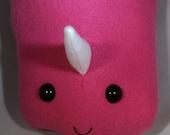 Pink Unicorn Blood Bag Buddy Plush