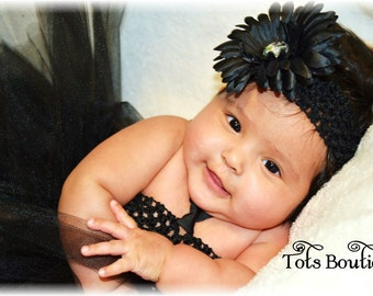 Black Tutu Dress- Baby Girl