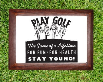 Golf Gifts for Med, Golf Gifts, Fathers Day, Golfer, Golfing, Wall Decal, Golf Decal, Sticker, Vinyl, Wall, Home, Office, Bachelor Pad Decor