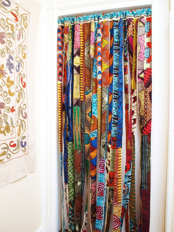 Items Similar To Batik Baifall Wax Print Panel Or Room