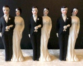 Old Store Stock Post War Wedding Figures