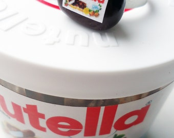 Nutella jar adjustable ring