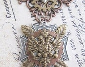 "Steampunk ""Imperial Commander"" Eagle and Star Chest Medal - Fleet Captain/ Airship Pilot / Imperial Commander / Mercenary"