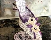 Paper Shoe Sculpture - Pegeen