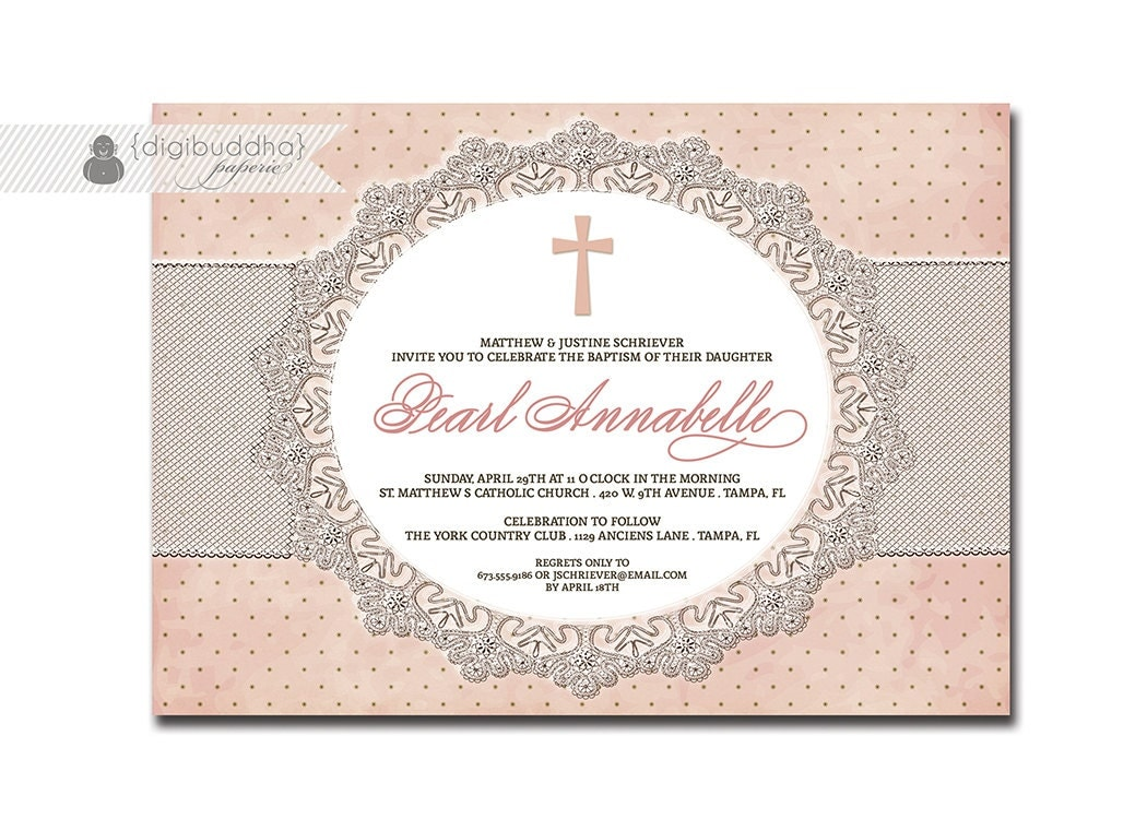 Baptism Invite Ideas for awesome invitations ideas