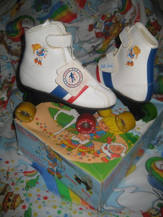 Vintage Rainbow Brite Roller Derby Skates IN BOX