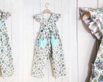 PATTERN Overalls - PDF Pattern and Tutorial (Instant Download)