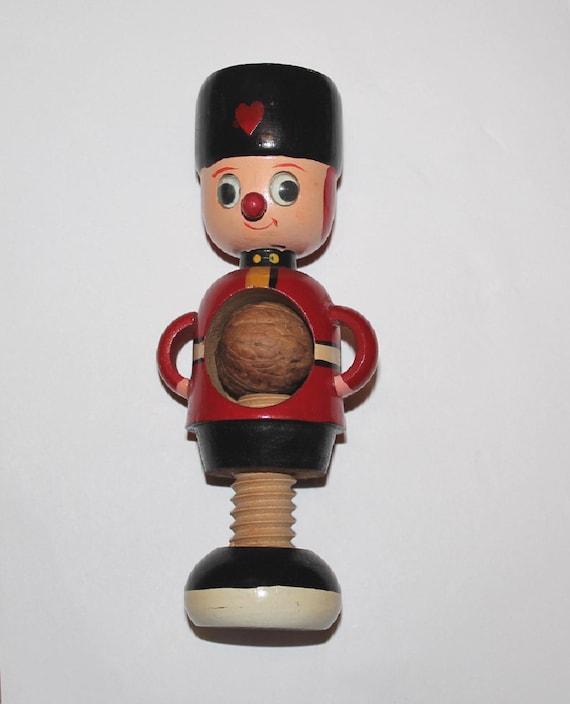 Vintage novelty nutcrakcer. Vintage toy soldier 1960s