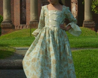 Colonial dress   Etsy
