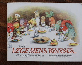 Rare Vintage Children's Book - The Vege-Men's Revenge (1987)