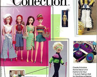 Fashion Doll Collection Crochet Pattern Annies Attic 874057