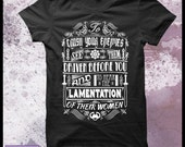 """Conan the Barbarian t shirt - Men's Decorative typography movie t shirt. """"What is best in life"""""""
