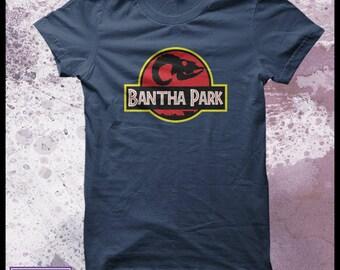 Star wars t shirt - Jurassic Park t-shirt - mens Bantha park