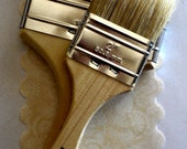 100% Pure Bristle Brush Duo // Chalk Paint // ChalkBoard Paint // Paint Brush // Brushes // Painting // Painting Ideas // Shabby Chic // DIY