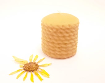 Beeswax Candle - Small Rope Beeswax Candle (BURNS FOR 20 HOURS)