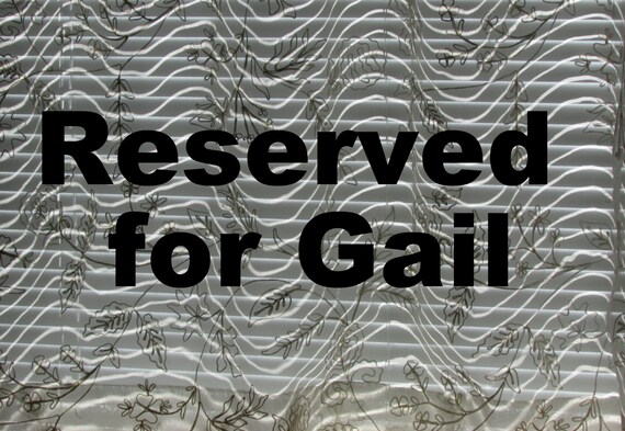 RESERVED for gailbcupidy ONLY