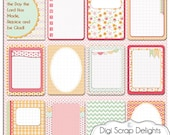 50% OFF - Pretty Bible Journal Cards, Project Life Inspired 3x4 Printable PDF & PNG, Digital Scrapbooking, Instant Download
