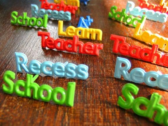 Brads School Student Scrapbook Card Recess Teacher Learn A Plus