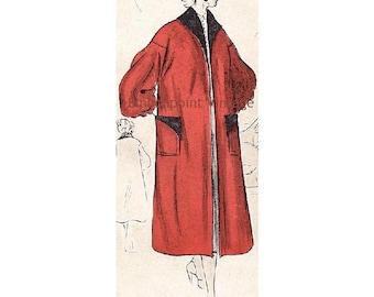 Plus Size (or any size) Vintage 1949 Jacket Sewing Pattern - PDF - Pattern No 68 Gretchen