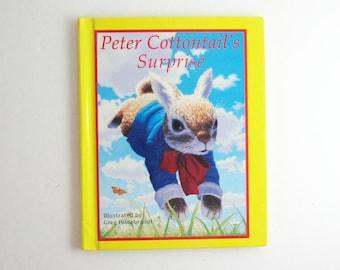 Peter Cottontail's Surprise - Vintage Childrens Storybook - Greg Hildebrandt - Illustrated Book - Rabbits - First Edition Book - Animal Book