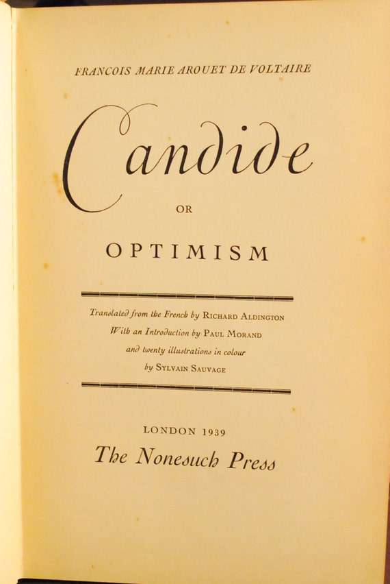 views of war in voltaires candide or optimism Religious satire in voltaire's candide essay  he held strongly anti-semitic views,  management education novel business war marketing health economics.