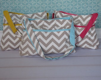 Popular items for chevron diaper bag on Etsy