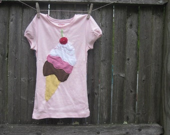 I Scream Ice Cream Girls T shirts Summer Fun