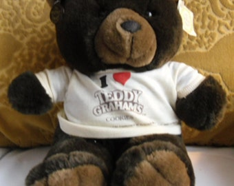 Ganz Heritage Collection Bear - Teddy Grahams Shirt and Nabisco Abearican Bandstand Book