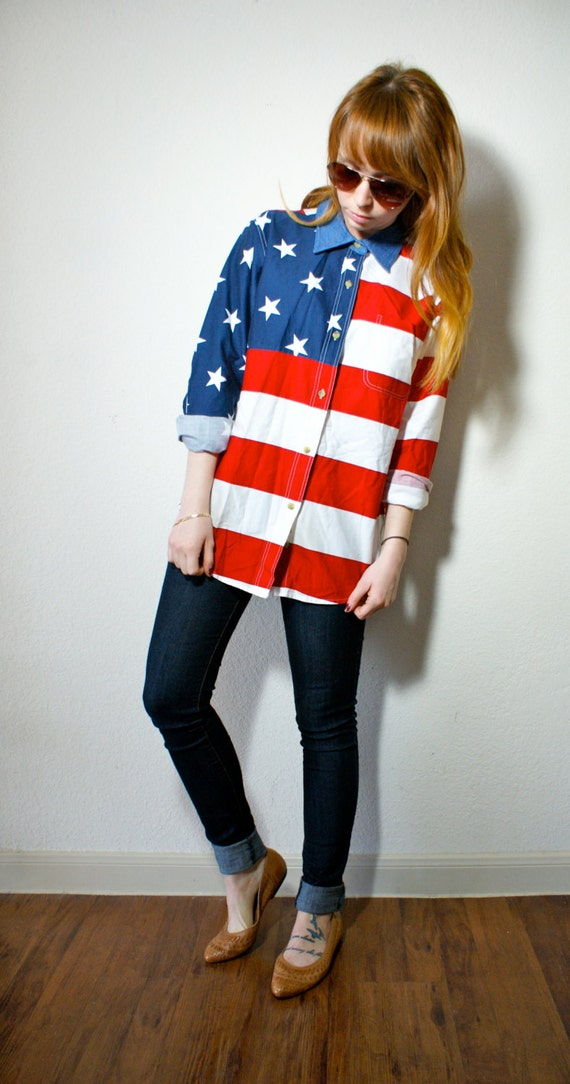 Image result for hipster american flag