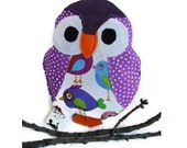 Owl catnip toy - cat toy Henry the Owl