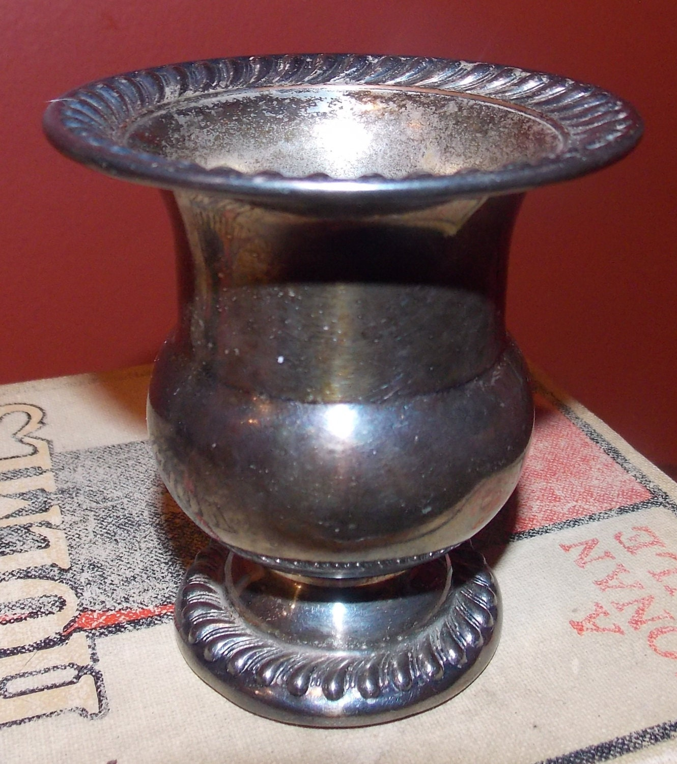 Vintage silver plate toothpick holder by grandpacharlies on etsy - Toothpick holder for purse ...