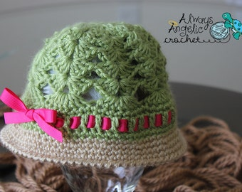Seaside Sun Hat 0-3months up to 5T