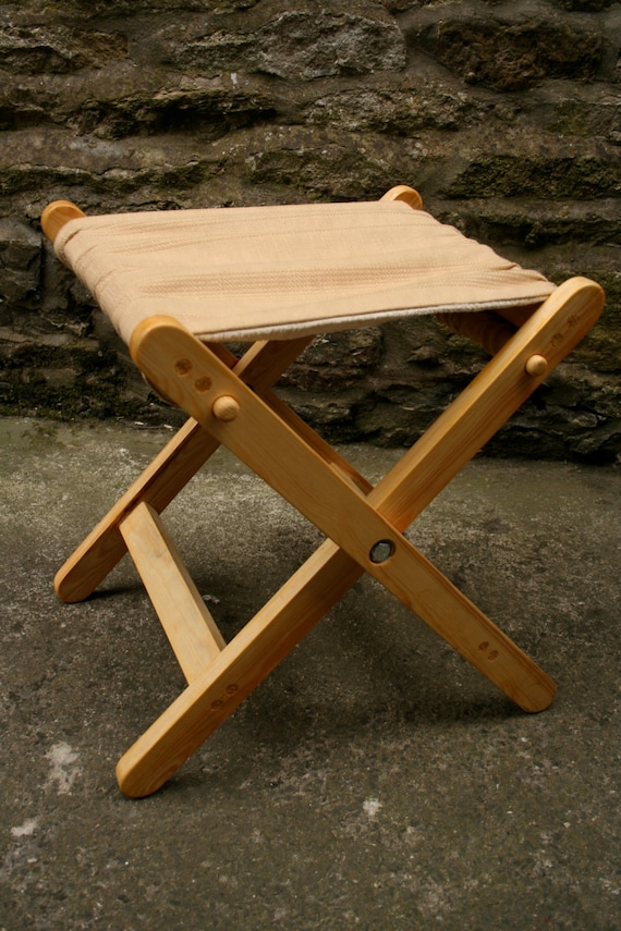 Items Similar To Folding Wooden Camping Chair Seat Outdoor