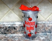 Personalized Lady Bug Tumbler