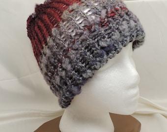 Fuzzy Knit Cap